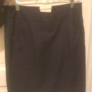Navy No. 2 JCrew factory pencil skirt